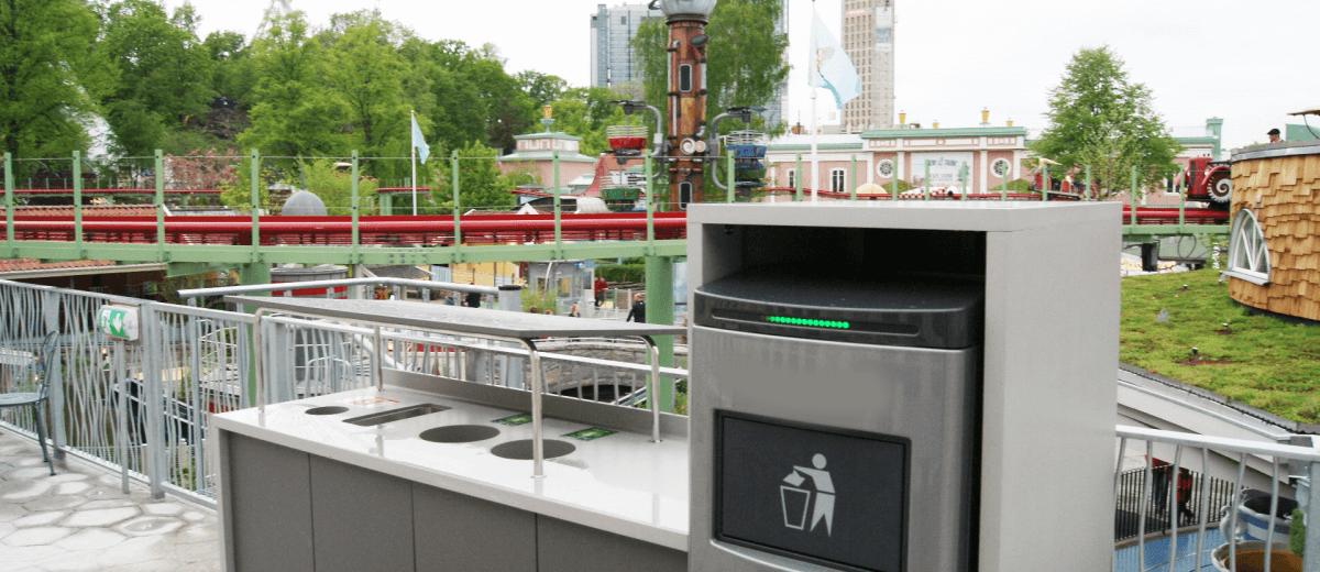 public space compactor