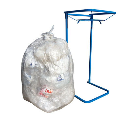 Portable Bag Stands & Bags